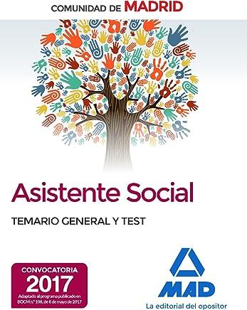 Asistentes sociales de la Comunidad de Madrid Temario general y test