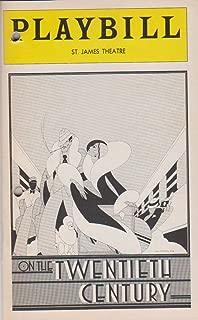 On the Twentieth Century Playbill 1978 St. James Theatre
