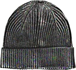 Solid Metallic Cuff Hat
