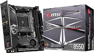 MSI MPG B550I GAMING EDGE MAX WIFI マザーボード Mini-ITX [AMD B550チップセット搭載] MB5288