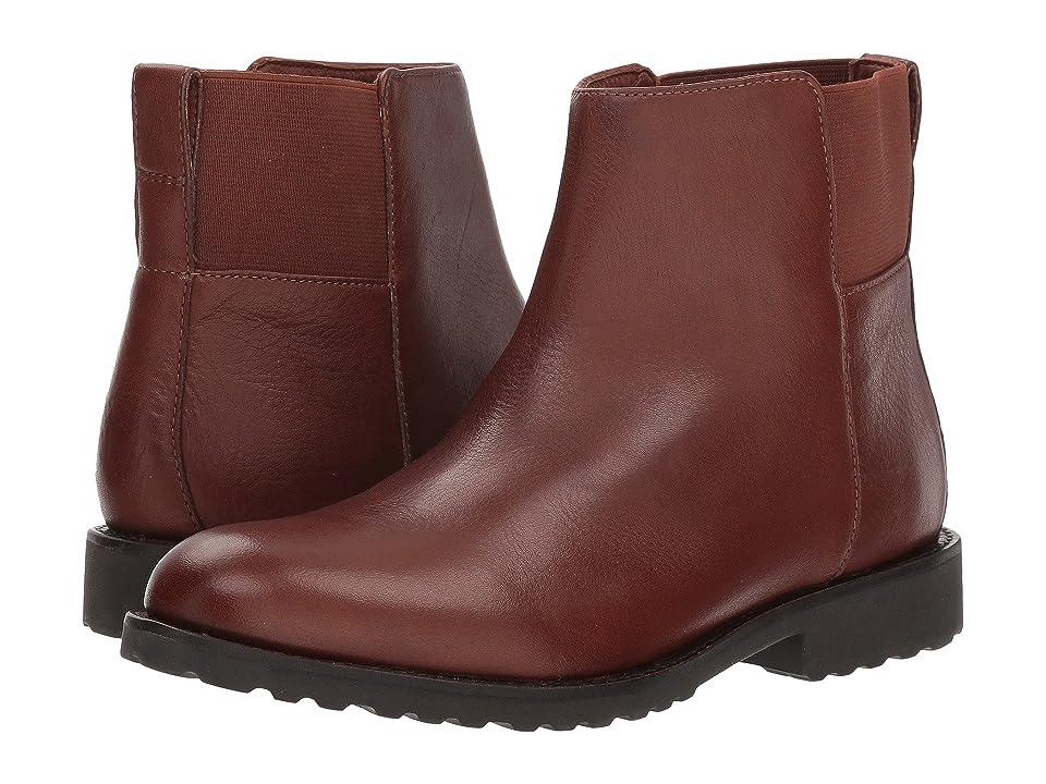 Johnston & Murphy Irene (Dark Brown Waterproof Leather) Women