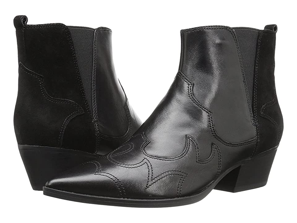 Nine West Cedar (Black/Black Leather) Women