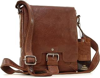 Ashwood Cross-Body Bag - Kindle A5 Size - 8341 - Tan Leather