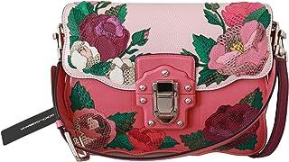 Bolso de mano Borse LUCIA de cuero de rosas rosas rosas rosas