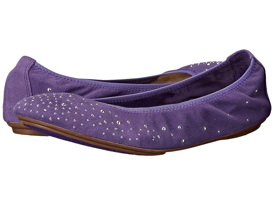 Hush Puppies Lolly Chaste (Purple Suede) Women