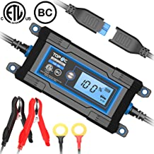 TOPAC 2.5/5A 6/12 Volt Automatic Car Battery Charger for Automotive, Motorcycle, Boat & Marine, RV, Toys, Power Tool, Lawn & Garden Battery Systems