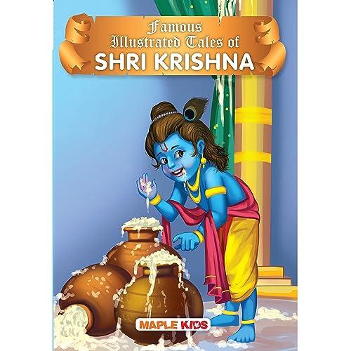 Krishna Tales (Illustrated) - for children