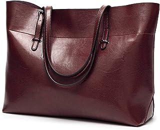None/Brand Ladies Pu Handbags, Shoulder Bags, Messenger Bags, Large-Capacity Office Bags, Tote Bags, Ladies Handbags Brown