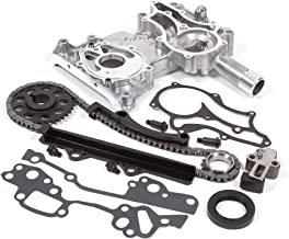 Evergreen TCK2000 Fits 85-95 Toyota 22R 22RE 8-Valves Timing Chain Kit w/Timing Cover