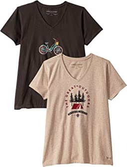 b5fd32cc916a45 Women's Life is Good Clothing + FREE SHIPPING | Zappos.com