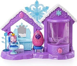 해치멀 콜에그터블즈 글리터 살롱 플레이세트 Hatchimals CollEGGtibles, Glitter Salon Playset with 2 , for Kids Aged 5 and Up