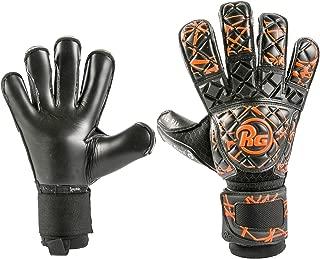 正規(アールジー)RG ゴールキーパー グローブ Snaga Black&Orange スナガ ブラック & オレンジ コンタクトブラックグリップ 橙