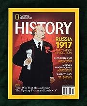 National Geographic History - September - October, 2017. Russia 1917 (Revolution); Martin Luther (Reformation); Minoan Magnificence; Roman Sea Battles; Semiramis; Egyptian Obelisks; Saigo Takamori