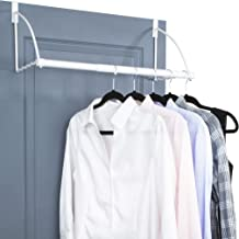 Over The Door Closet Valet- Over The Door Clothes Organizer Rack and Door Hanger for Clothing or Towel, Home and Dorm Room...