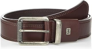 Lee Uniforms Men's Relaxed Flat Edge Leather Belt