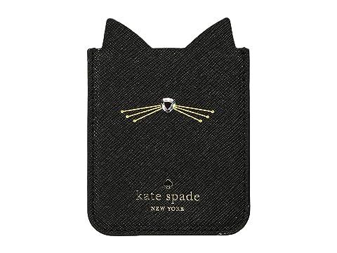 Kate Spade New York Embellished Cat Sticker Pocket