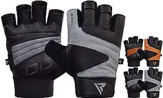 RDXトレーニング グローブ ジム ウェイトリフティング 筋トレ フィットネス ボディビルディング エクササイズ パワーリフティング ハーフ フィンガー 手首サポー ワークアウ 手のひら保護 Gym Gloves