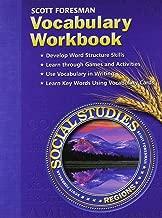 Scott Foresman Social Studies: Regions- Vocabulary Workbook