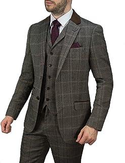 Costume Homme Gibson 2 Pièce Coupe Ajustée laine gris anthracite