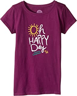 Oh Happy Day Crusher Tee (Little Kids/Big Kids)