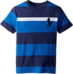 Striped Cotton Jersey T-Shirt (Little Kids/Big Kids)