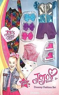 Jojo Siwa JoJo's Closet Dreamy Fashion Set 3 Piece Outfit, Shoes and Bowes
