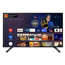 [For Axis Credit Card] Kodak 80 cm (32 Inches) HD Certified Android LED TV 32HDX7XPRO (Black) (2020 Model)