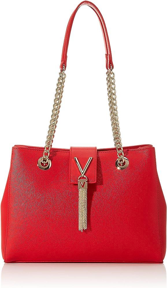 Valentino by mario divina, borsa da donna a spalla, in pelle sintetica VBS1IJ06