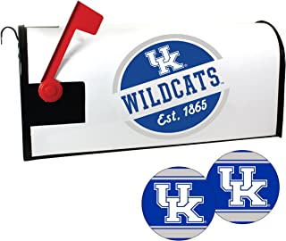 Kentucky Wildcats Magnetic Mailbox Cover and Sticker Set