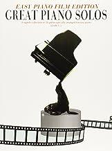 Great Piano Solos Film Easy Piano Edition Book (Easy Piano Film Edition)