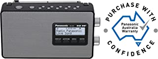 Panasonic DAB & DAB+ Portable Radio, Black, (RF-D10GN-K)