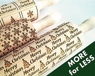 Weihnachten Nudelhölzer 3-er SET - wählen Sie 3 beliebige Teigrolle