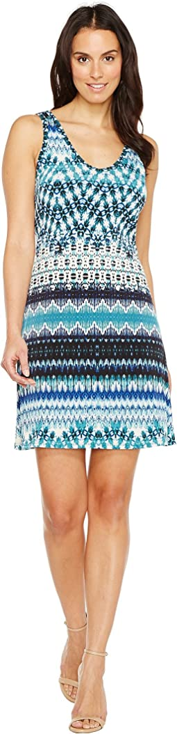 Batik Stripe Brigitte Dress