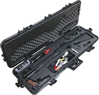 Case Club Pre-Made Tactical Shotgun Waterproof Case with Accessory Box and Silica Gel to Help Prevent Gun Rust
