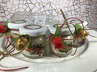 10 mini candele profumi natalizi segnaposto capodanno personalizzato Merry Christmas Decorazione tavola ricordo ospiti reg...