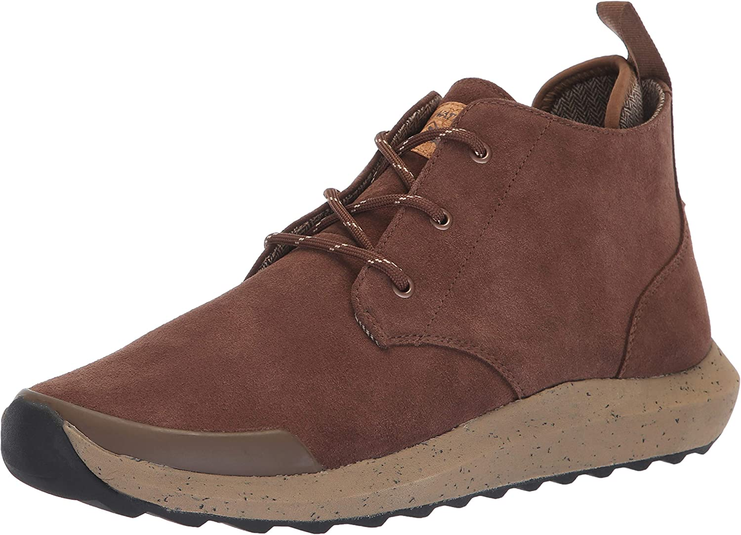 Freewaters Mens Freeland Premium Suede Outdoor Casual Dress Boot W Arch Support & 3m Scotchgard Chukka Boot