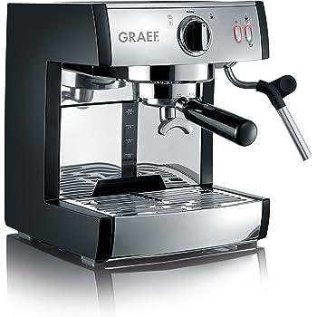 Graef Pivalla Cafetera Espresso, 230 W, 2.5 litros, Acero Inoxidable, Gris: Amazon.es: Hogar