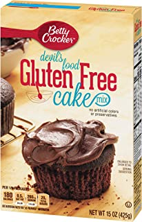 Betty Crocker Gluten Free Cake Mix Devil's Food 15.0 oz Box