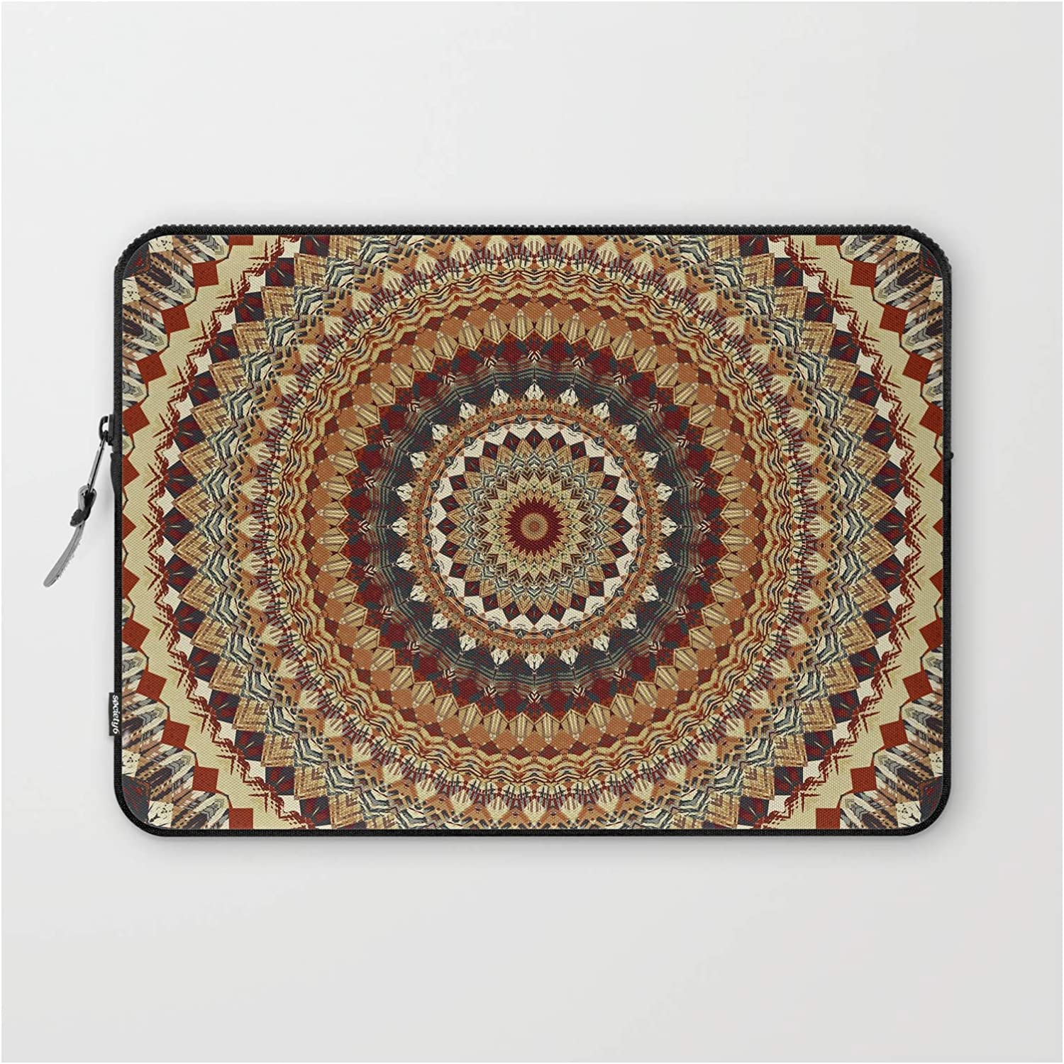 Earthy Mandala Department store by of Life Finally popular brand Slee - Sleeve on Laptop