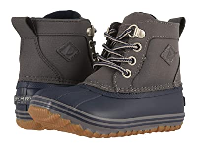 Sperry Kids Bowline Boot (Toddler/Little Kid) (Navy/Grey) Boy