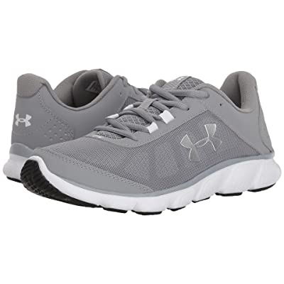 Under Armour UA Micro G Assert 7 (Steel/White/Metallic Silver) Women