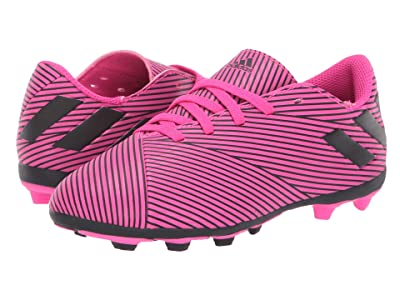 adidas Kids Nemeziz 19.4 FXG Soccer (Little Kid/Big Kid) (Shock Pink/Black) Kid