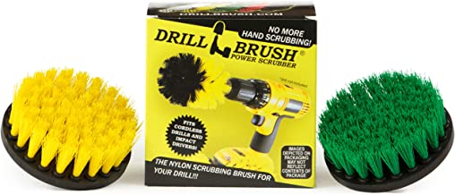 Cleaning Supplies - Drill Brush - Bathroom Accessories - Household Spin Brush Combo - Scrub - Shower Curtain - Bath Mat - ...