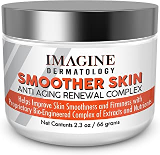 Potent ANTI-WRINKLE Imagine Smoother Skin Renewal Complex Anti-Aging Treatment Cream Algae Yeast Complex, Look Younger without Needles NEW LARGER SIZE (2.3 oz) (66 g)