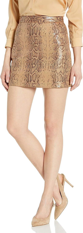 BB Dakota by Steve Madden Women's Vegan Leather Mini Skirt