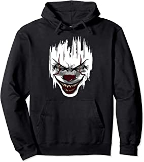 Halloween Killer Clown Mime Harlequin Scary Clowns Pullover Hoodie