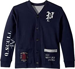 Reversible Fleece Cardigan (Big Kids)