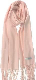 * 羊绒披肩围巾旅行披肩轻便的纸巾特重大号纯色带礼品盒
