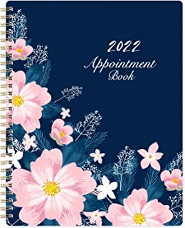 """2021-2022 Weekly Appointment Book/Hourly Planner - Weekly Planner 2021-2022, 8"""" x 10"""", July. 2021 - June. 2022, Hourly Int..."""