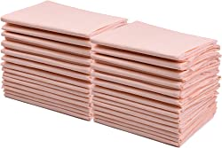 """Premium Disposable Underpads 30""""x36"""" (Packed 4x25 Case) Ultra Absorbent Chux Incontinence Bed Pads, Pet Training Pads X-Large 100/Case"""